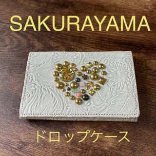 アッシュペーフランス(H.P.FRANCE)のSAKURAYAMA ドロップカードケース(財布)