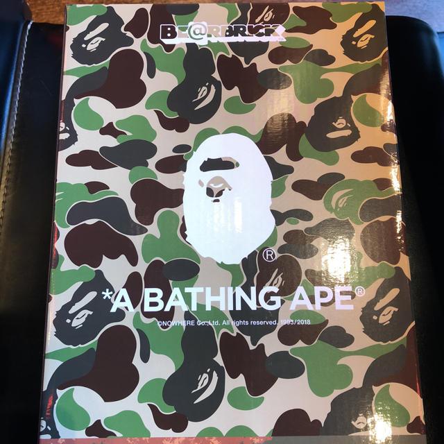 A BATHING APE(アベイシングエイプ)の新品 新品/BE@BRICK READYMADE x APE  ベアブリック  エンタメ/ホビーのフィギュア(その他)の商品写真