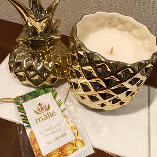 マリエオーガニクス(Malie Organics)のマリエオーガニック  パイナップル ソイキャンドル(キャンドル)