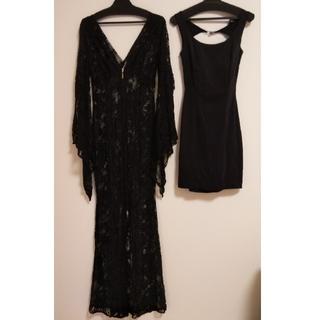 ギャルズビル(GALSVILLE)のGALSVILLE ブラックドレス 2着セット(その他ドレス)