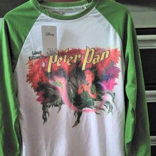 ディズニー(Disney)のCakeworthy  ピーターパンロンT Mサイズ(Tシャツ/カットソー(七分/長袖))