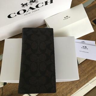 コーチ(COACH)の★セール COACH(コーチ)折り財布 F75013 ブラウン(財布)