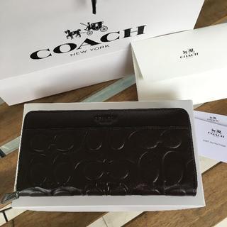 コーチ(COACH)の★セール COACH(コーチ) 長財布 F74999 ブラック(財布)