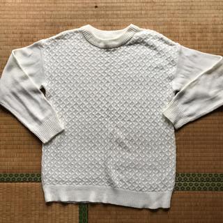 シマムラ(しまむら)の新品未使用 白色 ニット(ニット/セーター)