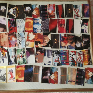 バンダイ(BANDAI)のエヴァンゲリオン カード 55枚(カード)