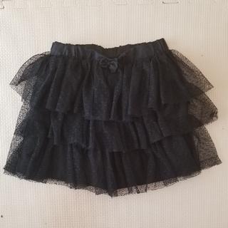 ジーユー(GU)のチュールスカート(スカート)