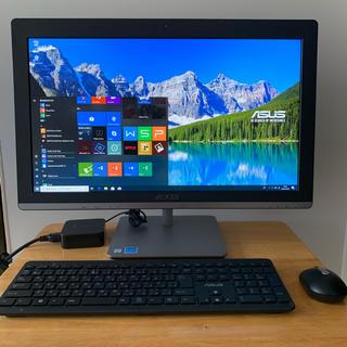エイスース(ASUS)の新品同様 一体型 i5-6400T 4G/1TB/FHD/23インチ 高速 (デスクトップ型PC)