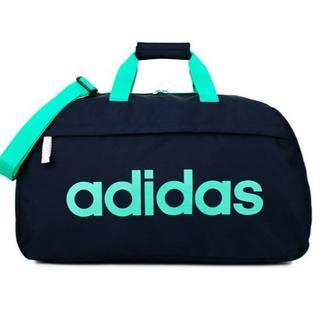 アディダス(adidas)の【限定色】アディダス ボストンバッグ60cm ネイビー×グリーン(ボストンバッグ)