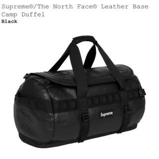 シュプリーム(Supreme)のsupreme north face leather base camp bag(ボストンバッグ)