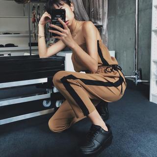 アリシアスタン(ALEXIA STAM)のjuemi ジュエミ jump suit ジャンプスーツ オールインワン(オールインワン)