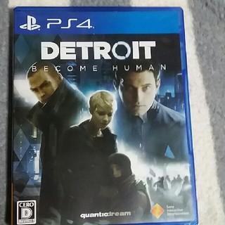 PlayStation4 - デトロイト ps4