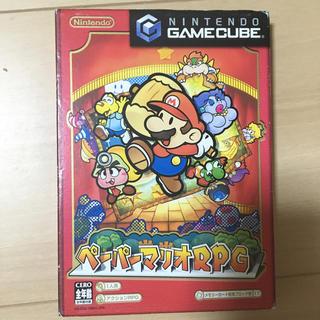 ニンテンドーゲームキューブ(ニンテンドーゲームキューブ)のペーパーマリオRPG (任天堂 ゲームキューブ)(家庭用ゲームソフト)