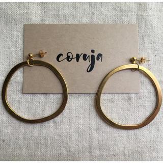 15. gold hoop pierce(ピアス)
