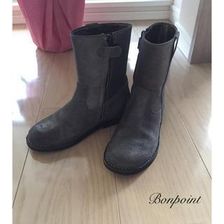 ボンポワン(Bonpoint)の美品 Bonpoint ボンポワン☆ブーツ(ブーツ)