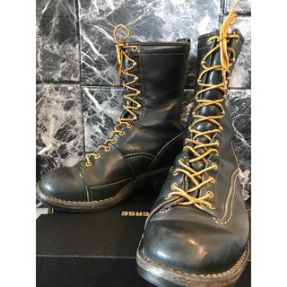 ウエスコ(Wesco)のWesco ウエスコ ロガー ブーツ アメリカン ブラック(ブーツ)