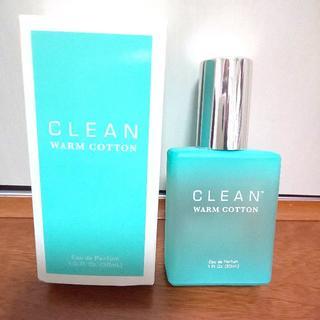 クリーン(CLEAN)のCLEAN クリーン ウォームコットン 30ml 香水 コロン  2回使用のみ(ユニセックス)