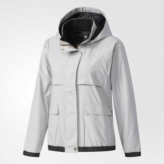 アディダス(adidas)のアディダス 裏起毛ウィンドジャケット グレーL 定価8629円 CD4897(その他)
