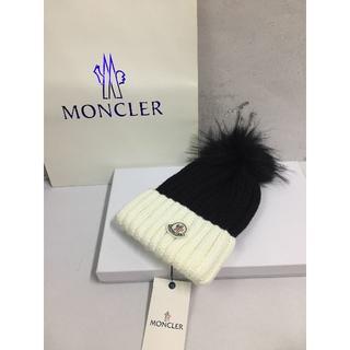モンクレール(MONCLER)のモンクレール 帽子 (ニット帽/ビーニー)