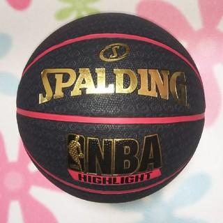 SPALDING - バスケットボール 7号球 レッド