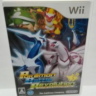 ウィー(Wii)のWiiソフト 『ポケモン バトルレボリューション』(人気)(家庭用ゲームソフト)