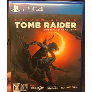 PlayStation4 - シャドウ オブ ザ トゥームレイダー PS4