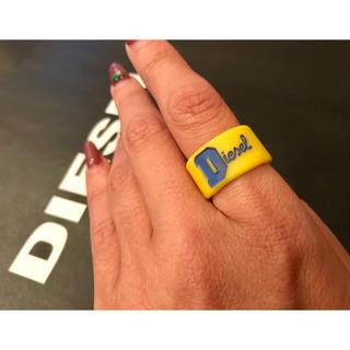 ディーゼル(DIESEL)のDIESEL ラバーリング(リング(指輪))