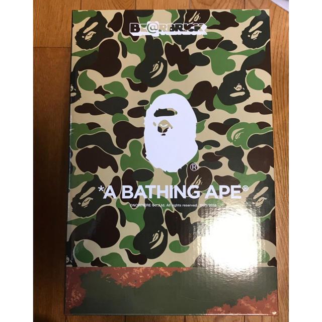 A BATHING APE(アベイシングエイプ)のBE@BRICK READYMADE A BATHING APE エンタメ/ホビーのフィギュア(その他)の商品写真