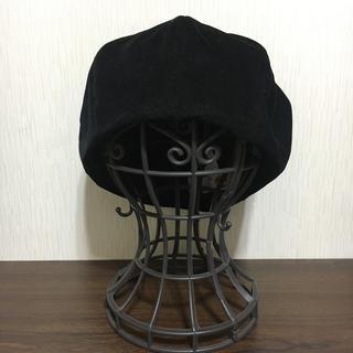 カシラ(CA4LA)のCA4LA /ベロアベレー帽(ハンチング/ベレー帽)