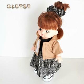 パーカー ブラウン メルちゃんの服 ソランちゃんの服 レミンちゃんの服(人形)