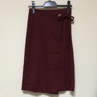 GU - ボルドー スカート
