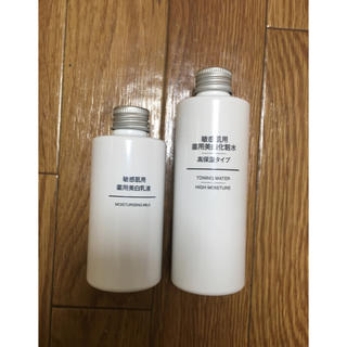 ムジルシリョウヒン(MUJI (無印良品))の無印 敏感肌用 薬用美白 化粧水&乳液(化粧水 / ローション)