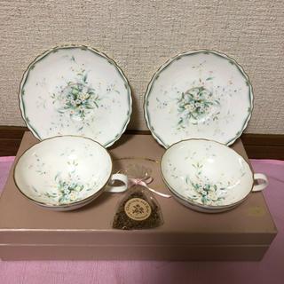ノリタケ(Noritake)のNoritake/ノリタケ ボーンチャイナ ティーカップセット(食器)