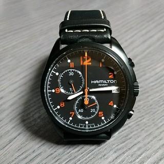 ハミルトン(Hamilton)のハミルトン 腕時計  カーキ パイロット パイオニア クロノ  H765820(腕時計(アナログ))