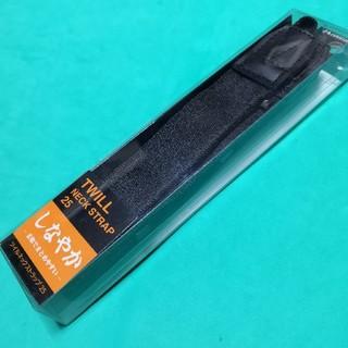 ハクバ(HAKUBA)の【新品】HAKUBA ツイルネックストラップ25[ブラック](その他)
