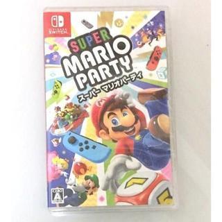 ニンテンドースイッチ(Nintendo Switch)の新品 未開封 スーパー マリオパーティ Switch ソフト 送料込(家庭用ゲームソフト)