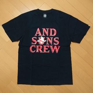 アンドサンズ(ANDSUNS)のANDSUNS - ゴーストバスターズ Tシャツ(Tシャツ/カットソー(半袖/袖なし))