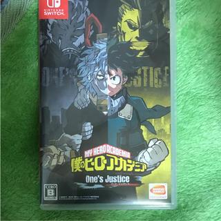 Nintendo Switch - 僕のヒーローアカデミア ワンズジャスティス
