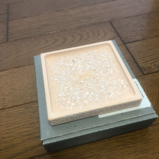 ソイル(SOIL)の即決 soil 珪藻土 SOAP DISH PINK 石鹸置き(ボディソープ / 石鹸)