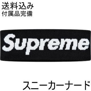 シュプリーム(Supreme)の supreme New Era Big Logo Headband black(その他)
