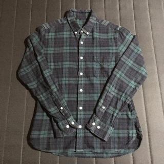 MUJI (無印良品) - 無印良品 ネルシャツ 2枚セット