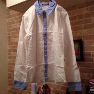 エナプリート(ENAPREET)の新品 ポイントチェックシャツ(シャツ/ブラウス(長袖/七分))
