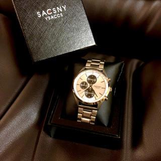 サクスニーイザック(SACSNY Y'SACCS)のY'SACCS クロノグラフ(腕時計(アナログ))