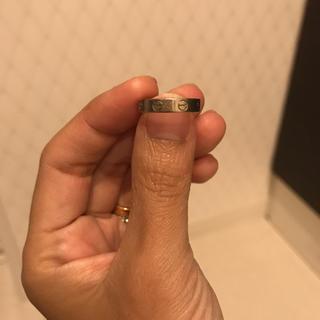 カルティエ(Cartier)のash lynx様専用[Cartier]ミニラブリング WG 46号(リング(指輪))