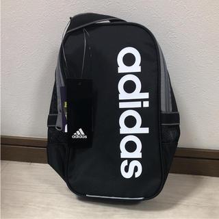 アディダス(adidas)のアディダス シューズケース 黒(シューズバッグ)
