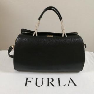フルラ(Furla)のFURLA バイカラー ボストンバッグ (ショルダーバッグ)