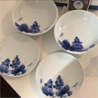 ハクサントウキ(白山陶器)の深川製磁 ブルーワイナリープレミアセットⅡ(食器)