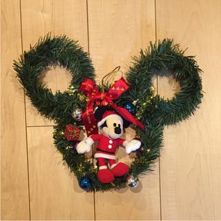 ディズニー(Disney)のミッキーマウス クリスマス リース(リース)