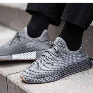 アディダス(adidas)の新品 DEERUPT RUNNER グレー 27.5㎝(スニーカー)
