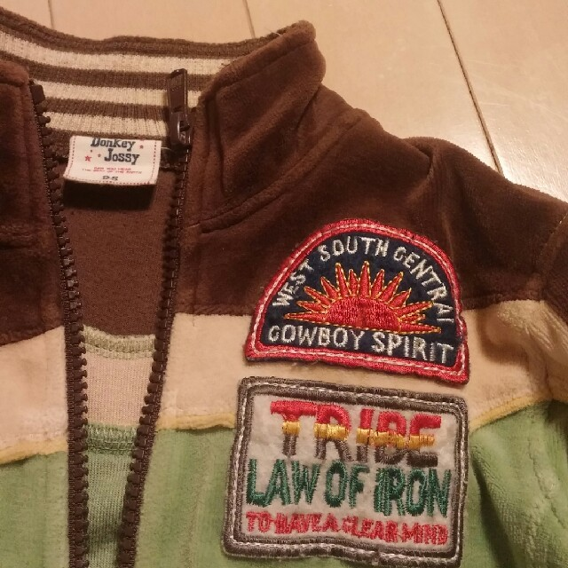 Donkey Jossy(ドンキージョシー)のジャンパー キッズ/ベビー/マタニティのキッズ服 男の子用(90cm~)(ジャケット/上着)の商品写真