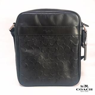 コーチ(COACH)の新品!COACH シグネチャーショルダーバッグ/Charcoal/Black(ショルダーバッグ)